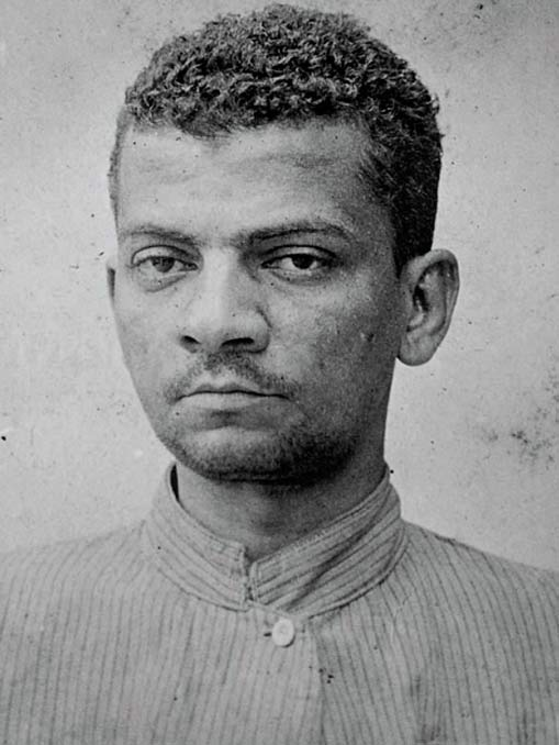 Lima Barreto em sua primeira internação, em 1914