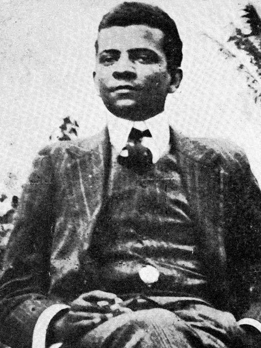 """Lima Barreto em 1909, ano de lançamento de """"Recordações do escravo Isaías Caminha"""""""